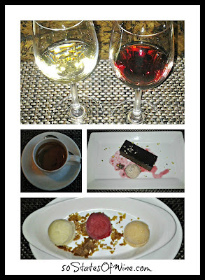 Epic Restaurant Chicago Dessert Collage