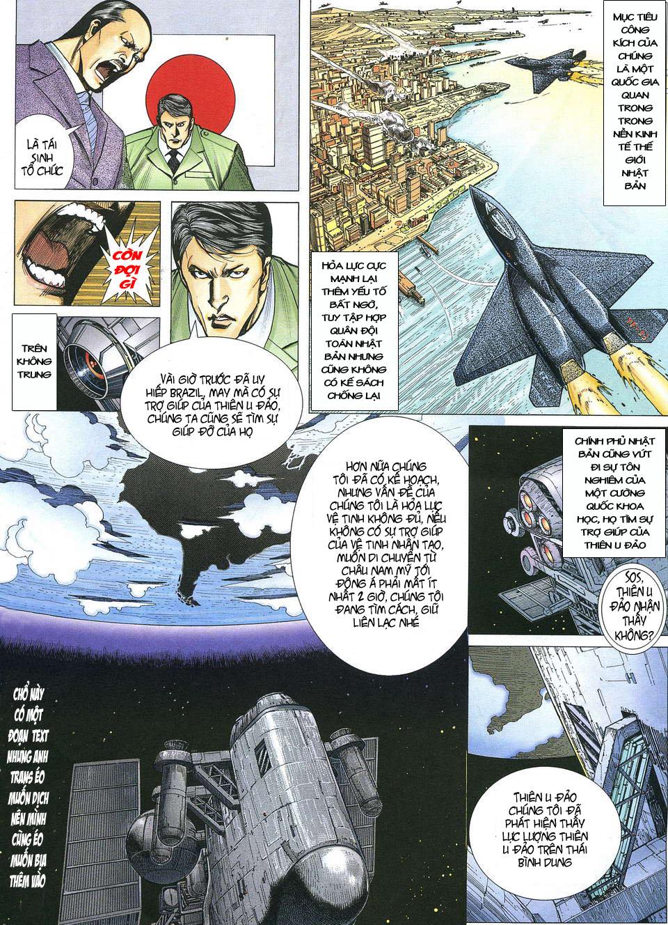 Phong Lôi chap 39 - Trang 13