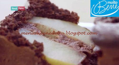 Plumcake cioccolato e pere ricetta Parodi per Molto Bene