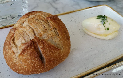 VOX Table bread of the day + cultured butter
