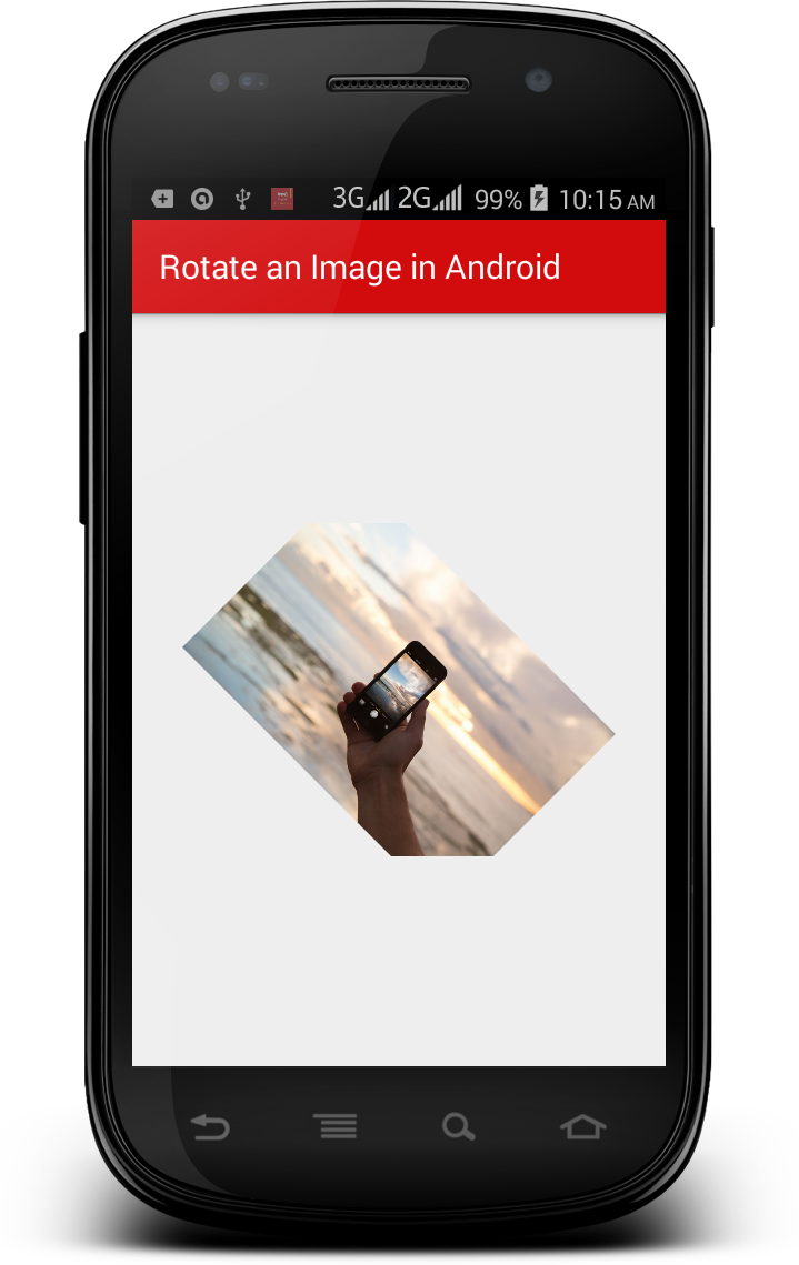 How to Rotate an Image in Android