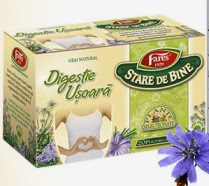 Ceai pentru digestie usoara