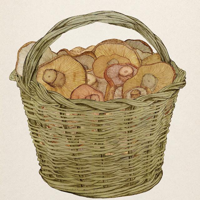 cesta de rebollones