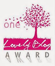 Blog award...