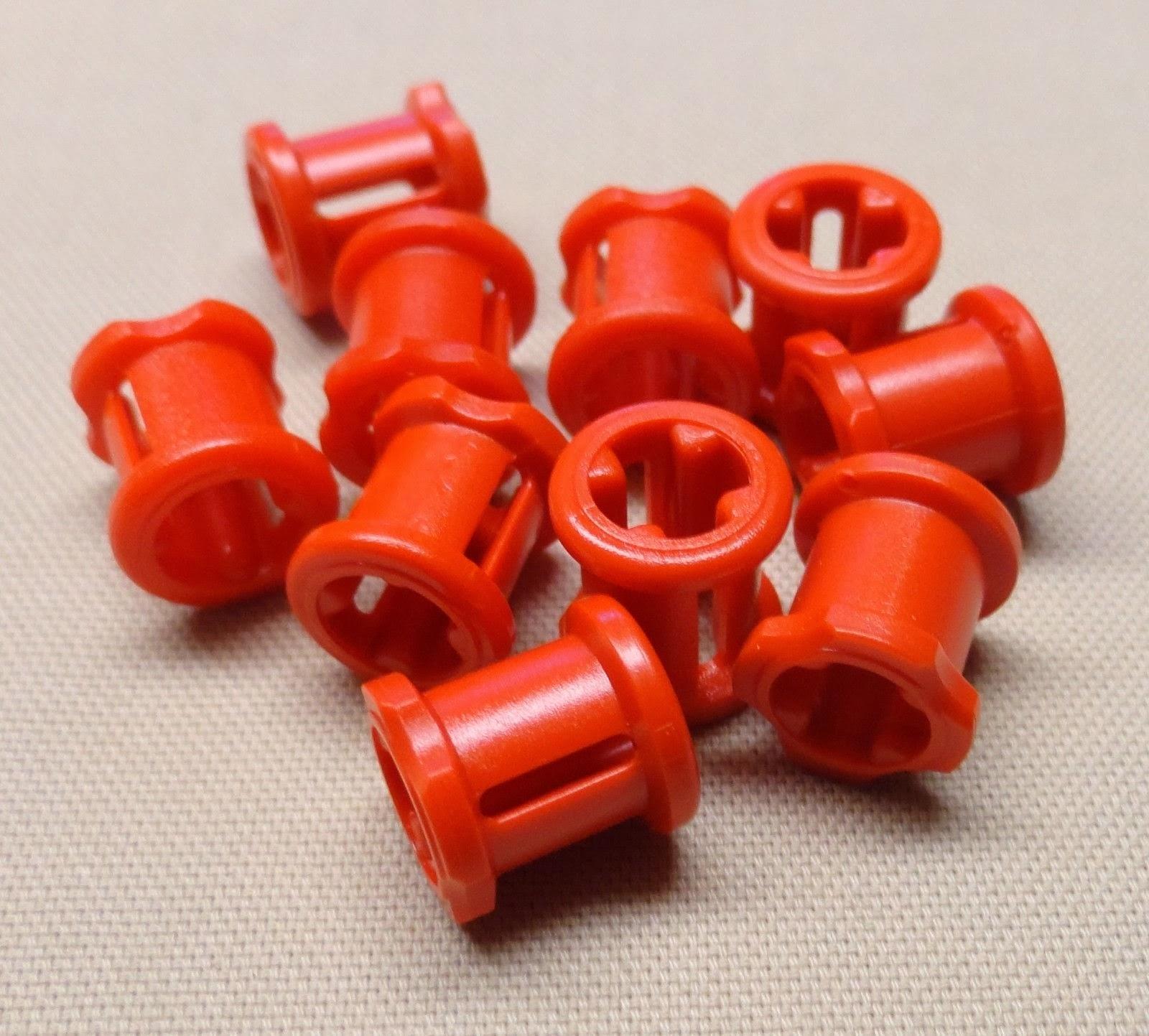NEW x10 Lego Technic NXT Bushing Bush Red