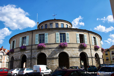 Ambert, la mairie ronde