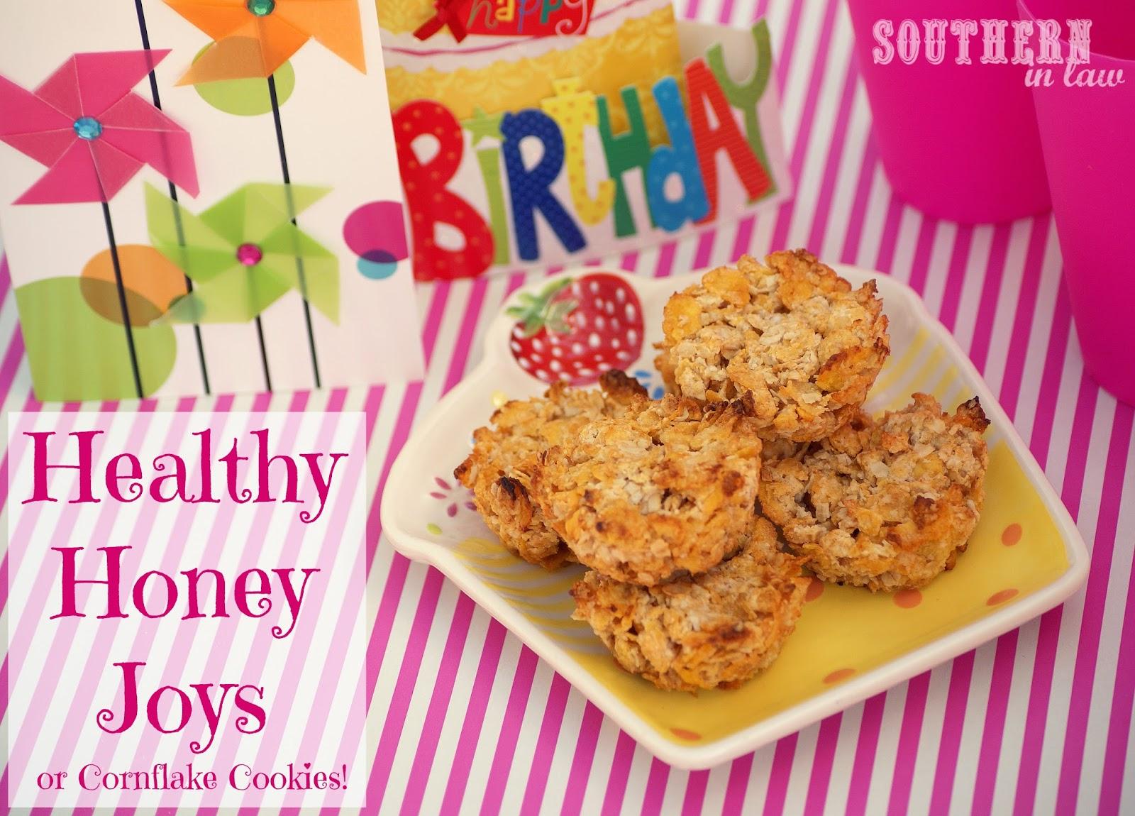 Recipe for honey cornflake cookies