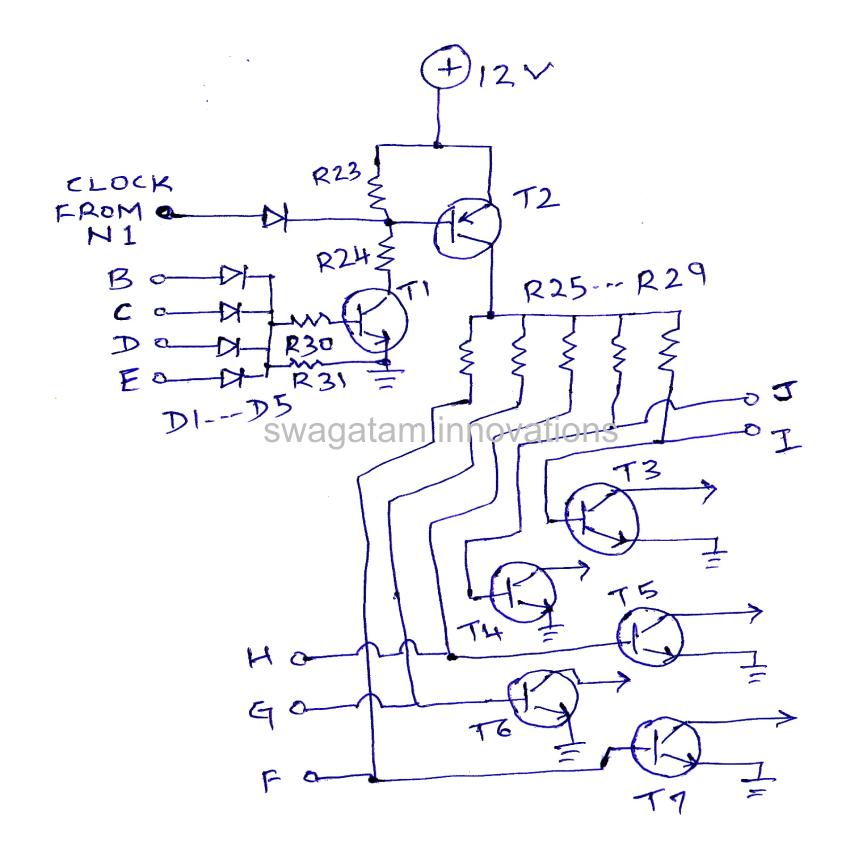quot predator quot car led indicator light chaser circuit