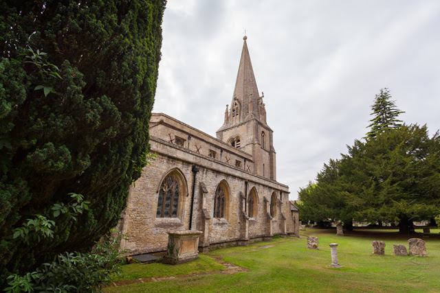 St Mary the Virgin church in the Cotswold village of Shipton under Wychwood by Martyn Ferry Photography