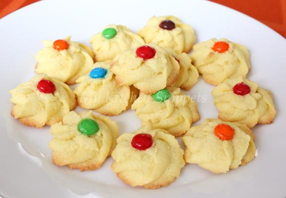 Gertrude (My Kitchen Snippets)-Lemon Polenta Cookies