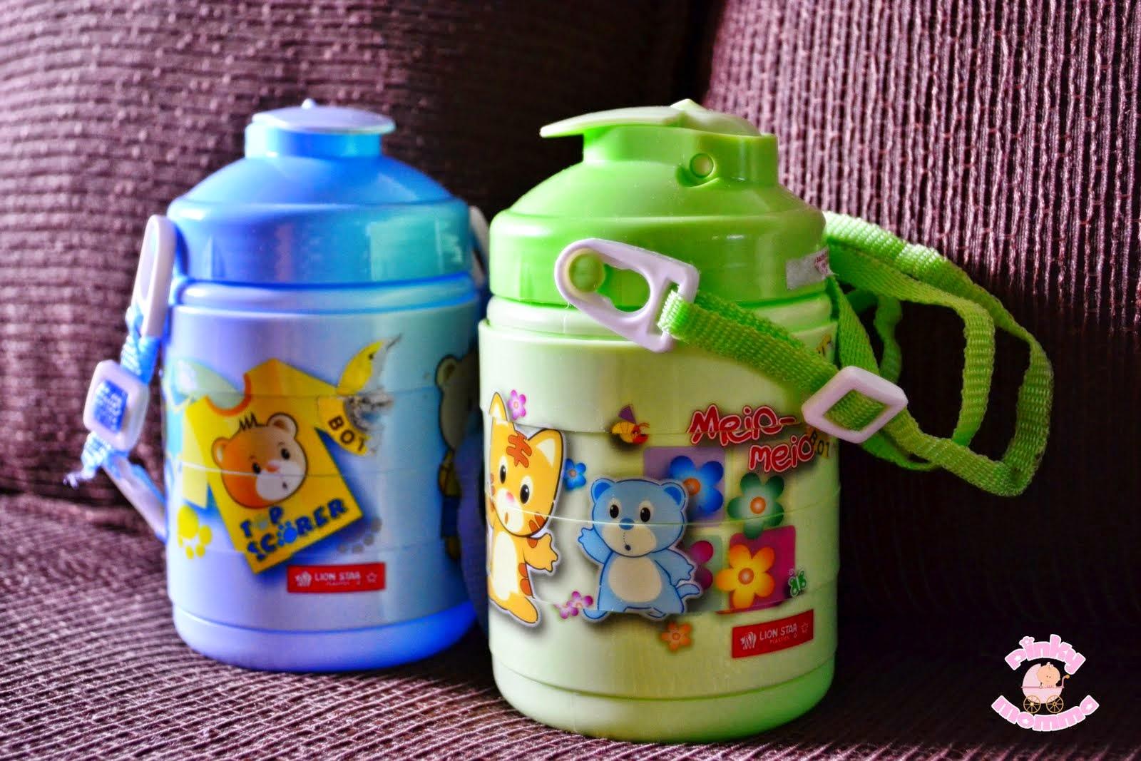 bekalkan air botol untuk anak ke sekolah