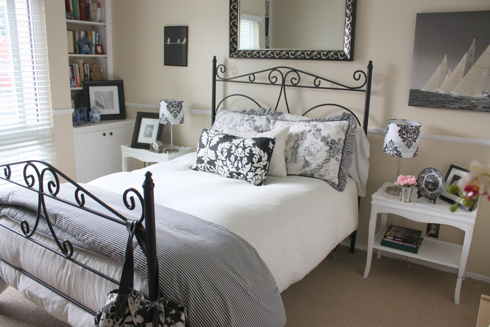 Balanced style my guest bedroom for Bedroom inspiration