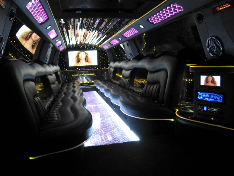 Cars pictures information lamborghini limousine - Interior leather bar free online ...