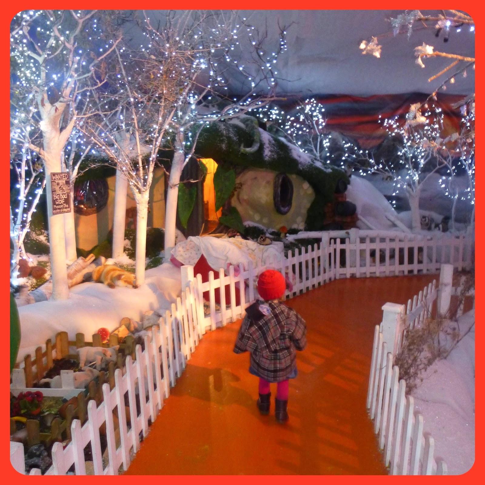 winter wonderland at world u0027s end garden centre mummy on a budget