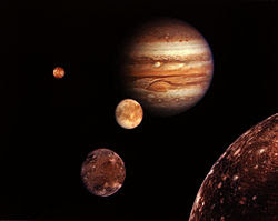 Jupiter's Moons Finder