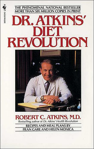 Dr. Robert Atkins 1972 Diet Revolution
