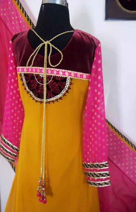 Gala / Neck Designs of Kameez Dresses