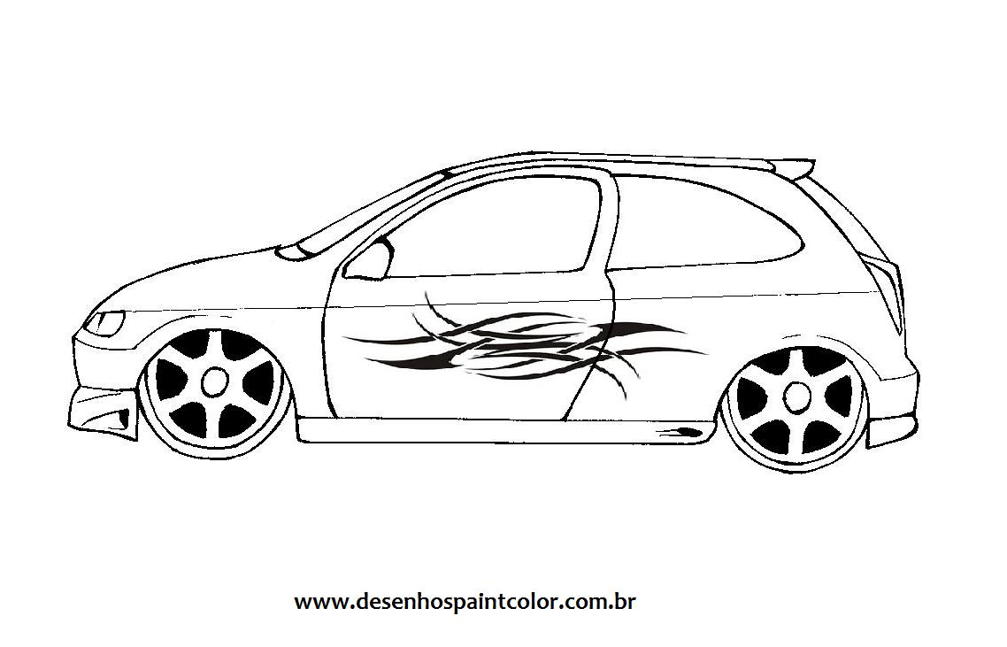 Super Carros Para Desenhar