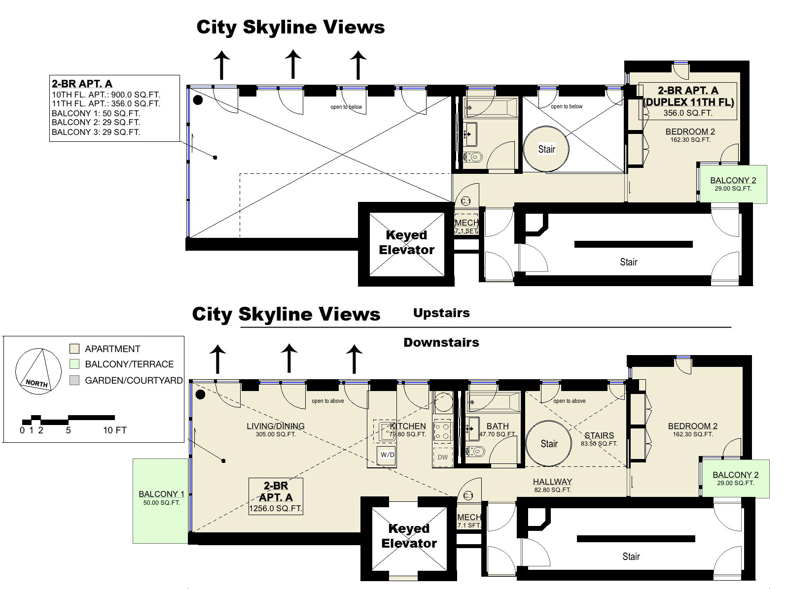 Rentlighthouse floorplans for Up down duplex floor plans