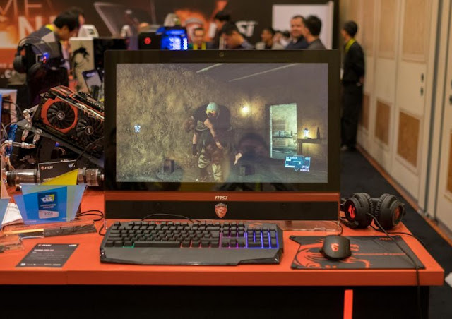 моноблок MSI Gaming 27XT на выставке CES 2016