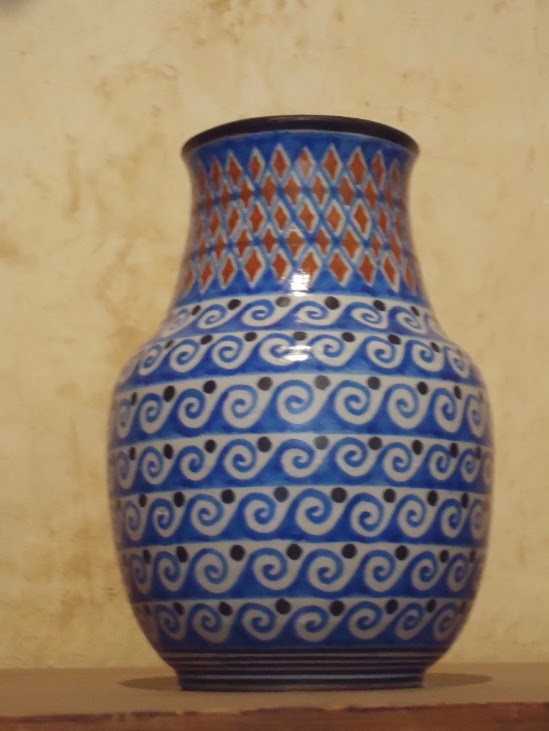 High Temperature Ceramic from Tzintzuntzan at Lake Patzcuaro