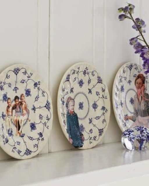 Porzellan dekorieren mit Lazertran Wasserschiebefolie - spezielles Design für die Küche!