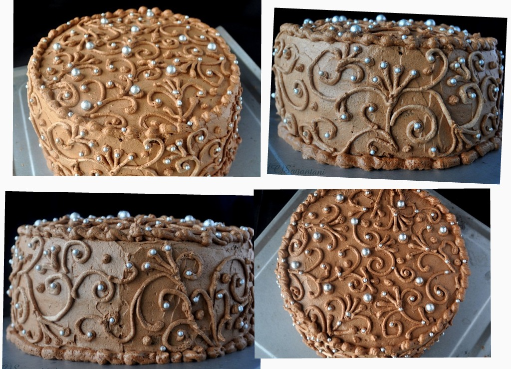 how to make fudge cake icing
