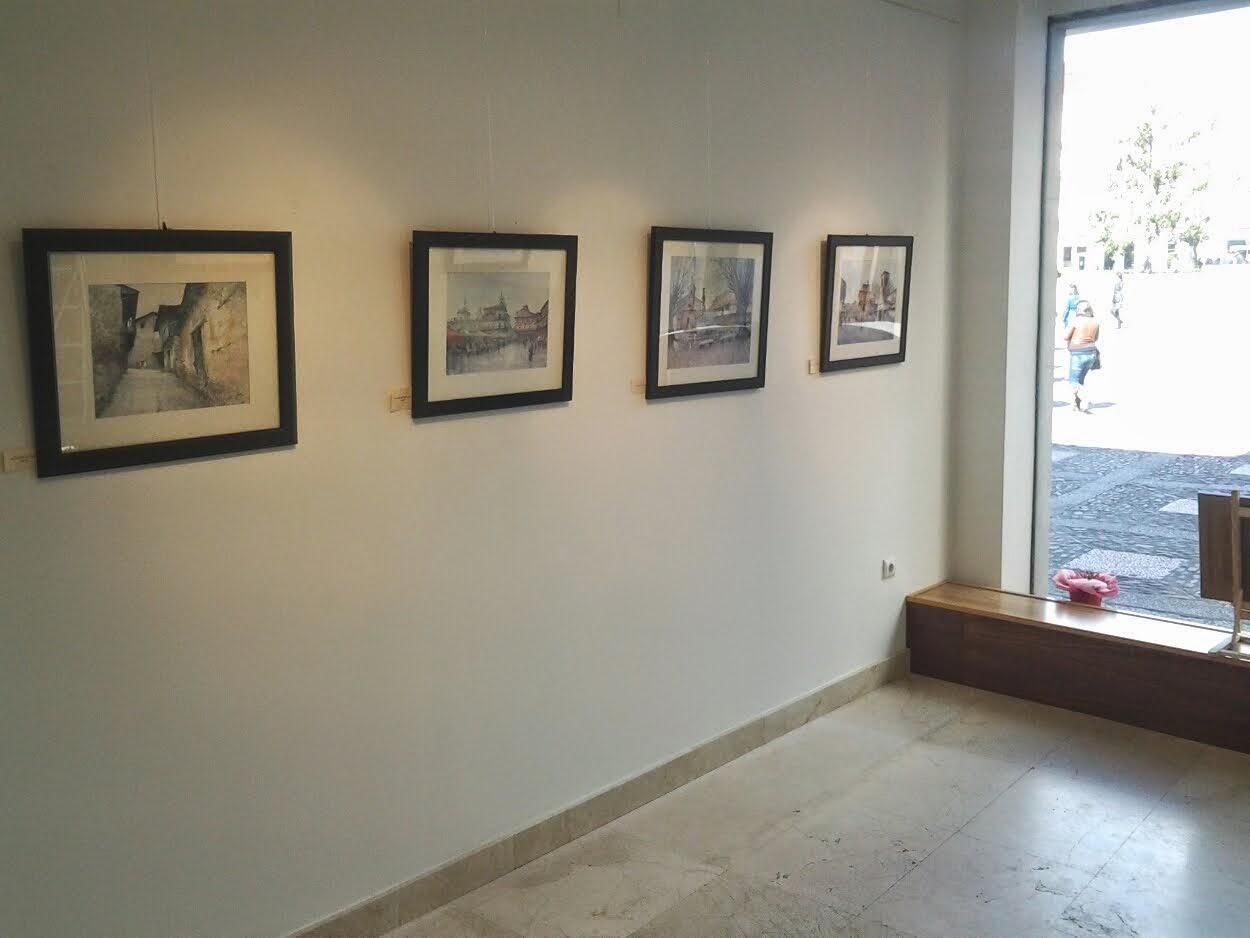 Exposición en la Galeria Alemi. León .Marzo 2014.