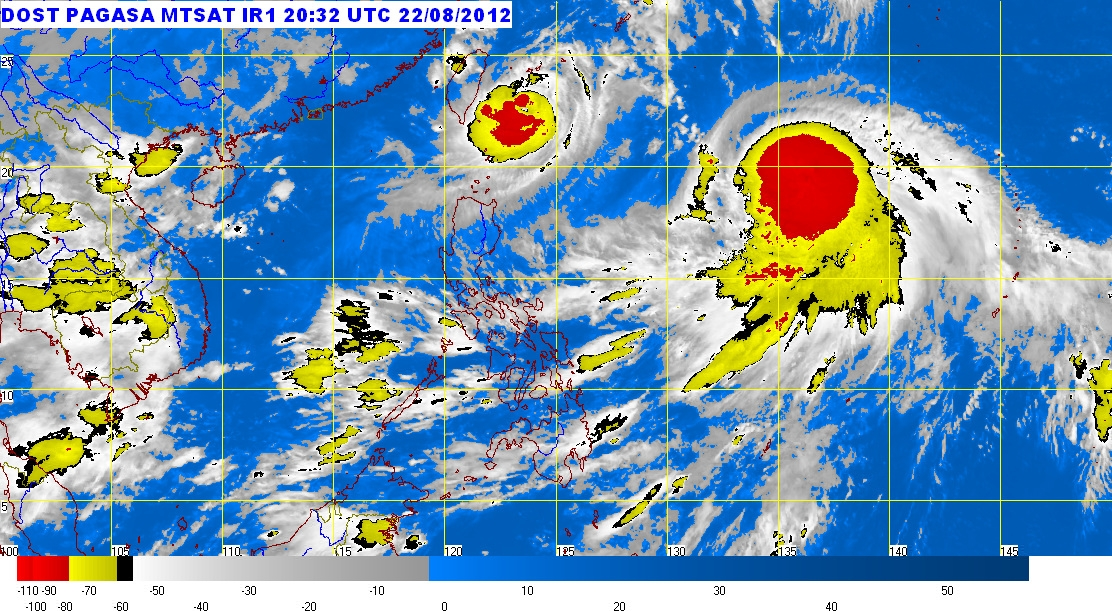 E news today pagasa weather forecast august 23 2012 for Today s fishing forecast