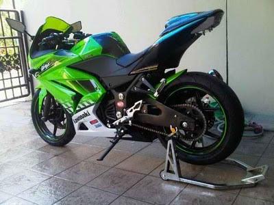Modifikasi Kawasaki Ninja asik