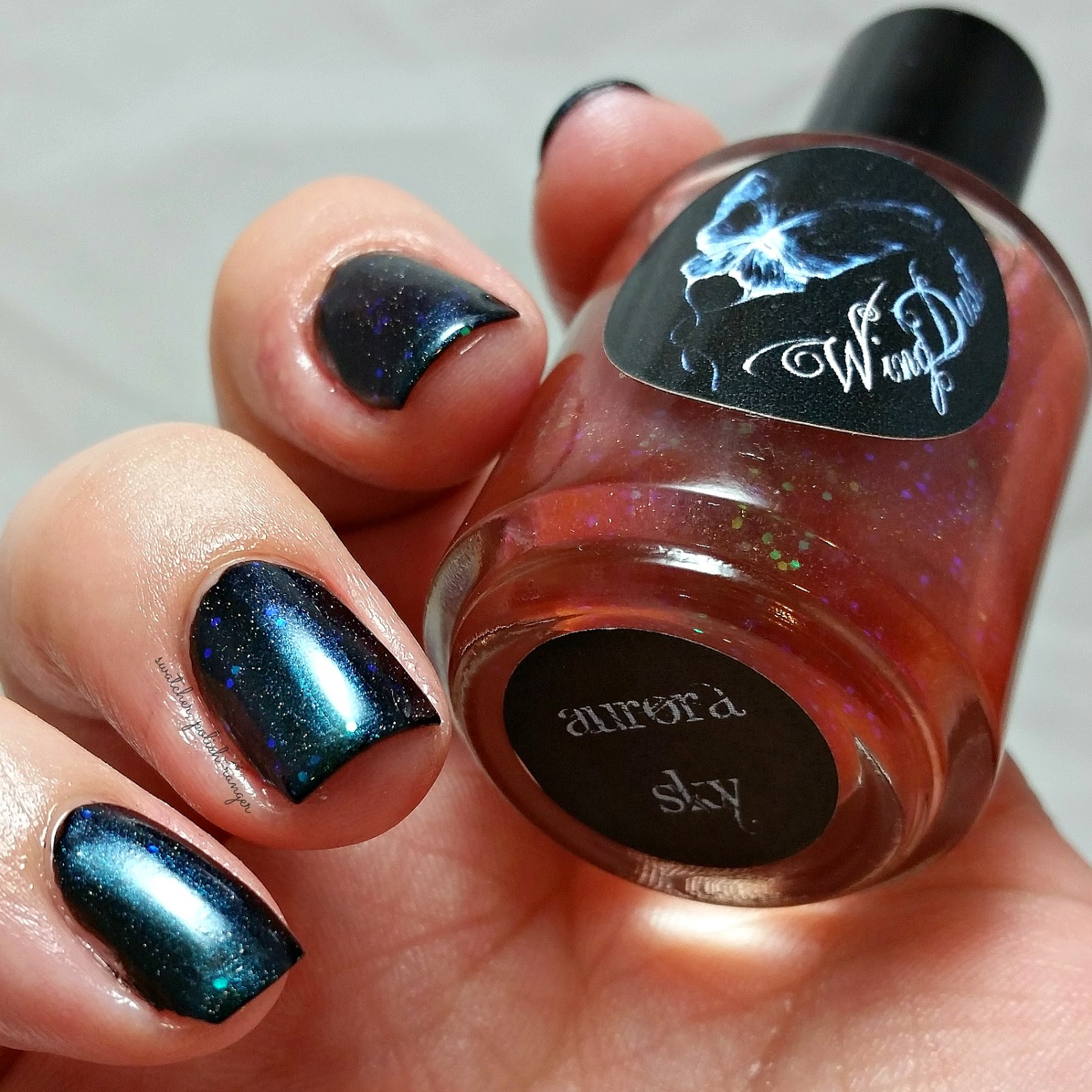 swatcher, polish-ranger | Wingdust Collections Aurora Sky swatch
