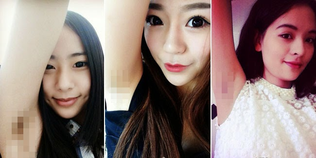 Cantik : Perempuan Cantik Pamer Bulu Ketiak di Sosial Media