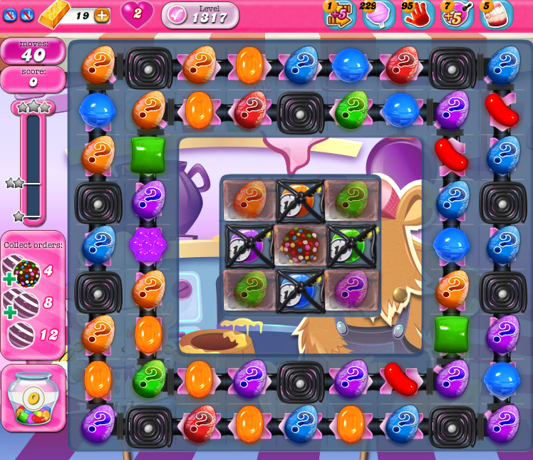 Candy Crush Saga 1317