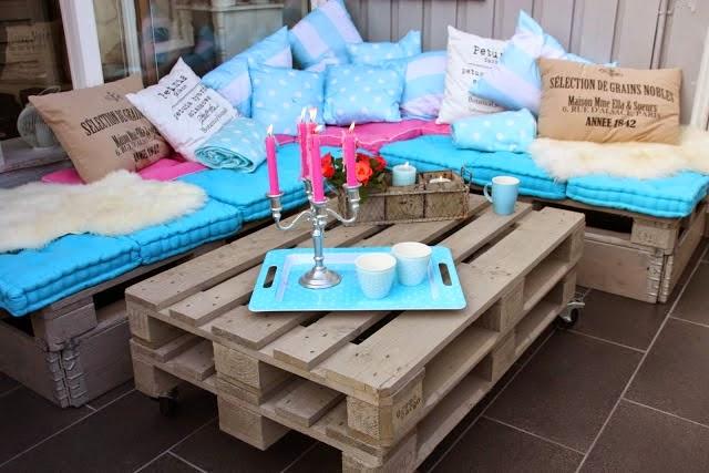 Más de 20 ideas para hacer tus propios muebles con Paléts
