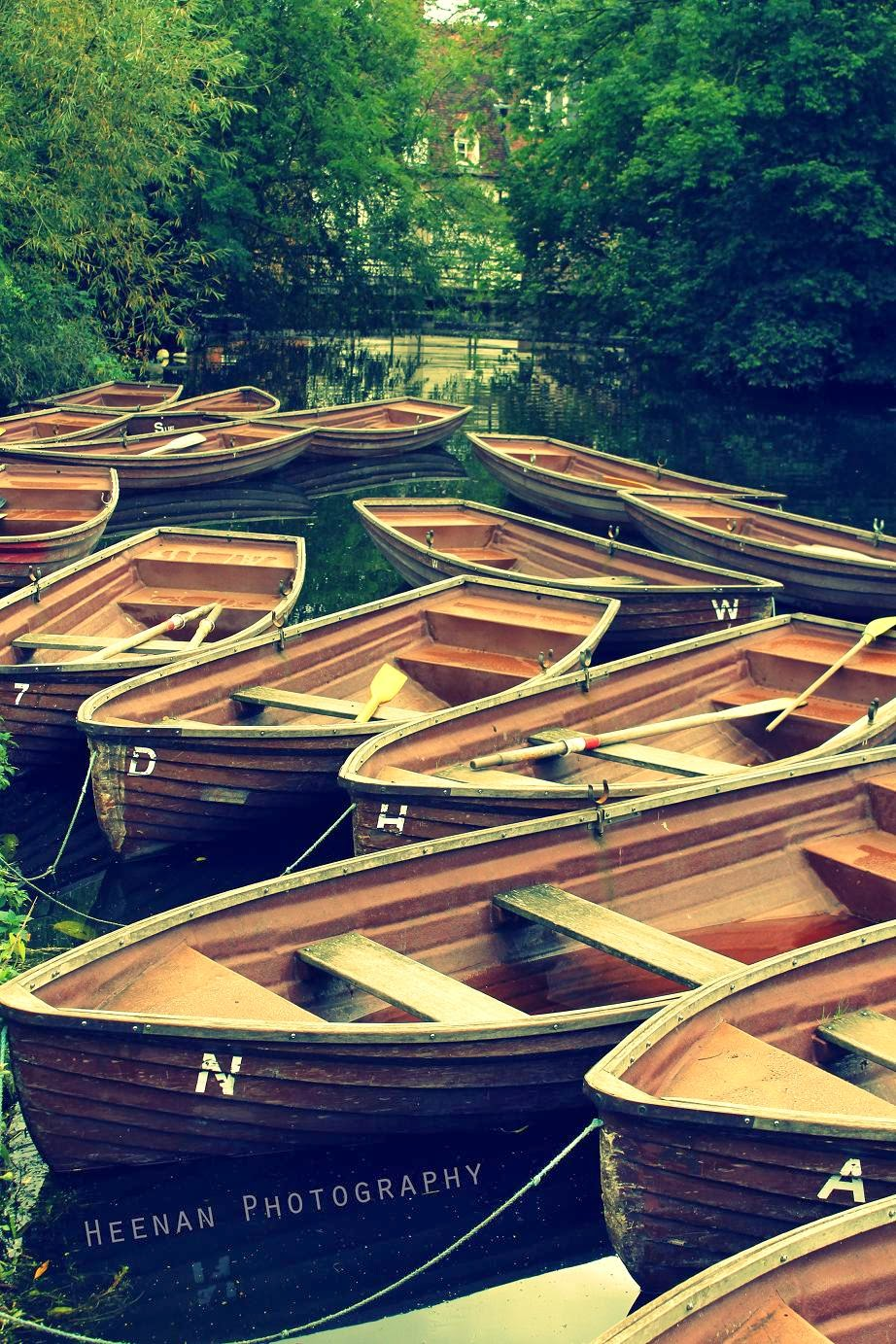 """The Boating Alphabet"", with an array of boats for hire. Photo by Heenan Photography."