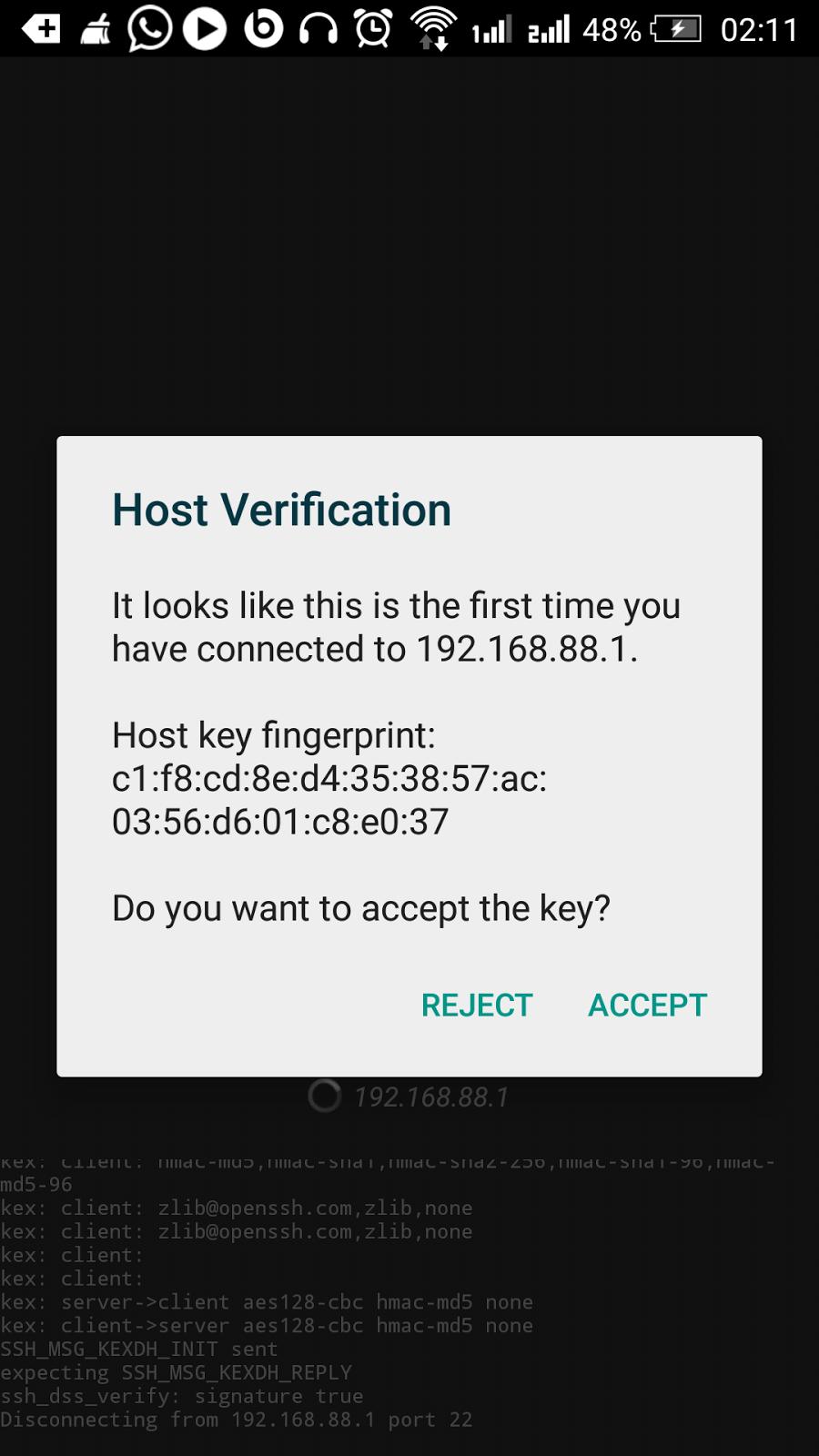 Cara Setting Mikrotik Menggunakan Android via SSH