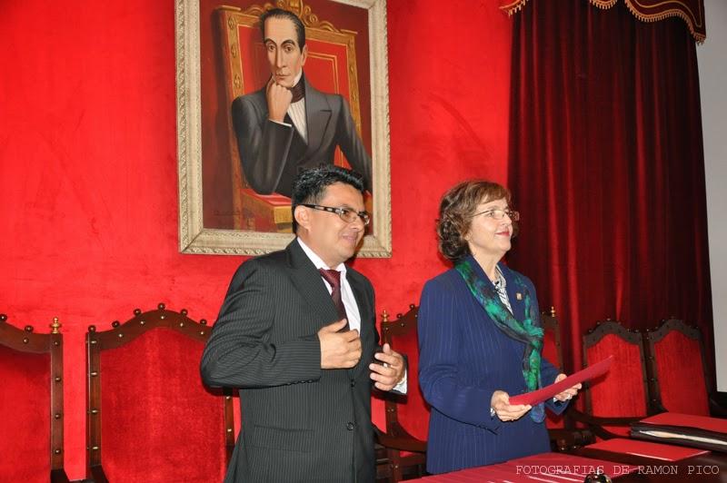 El evento tuvo lugar en el Paraninfo de la ULA,  con la presencia de la Vicerrectora Académica y el Coordinador del PEADS. (Foto: Ramón Pico)