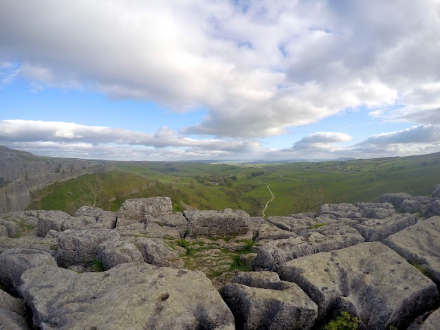 Malham, Malham cove, climbing, sport climbing, limestone, waterfall, Yorkshire, Yorkshire dales, Harry Potter, Deathly Hallows, Adventure, natural beauty, hike, outdoors, Go Pro,