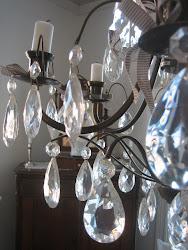 Lampa i matrummet