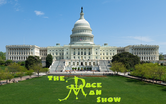 Dace Man Show podcast Marching on Capital Hill