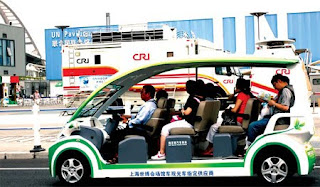 Electric Taxi in China