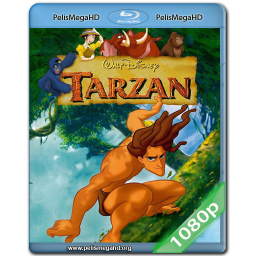 TARZAN (1999) FULL 1080P BLURAY AC3 5.1 LATINO – INGLÉS X264-HD