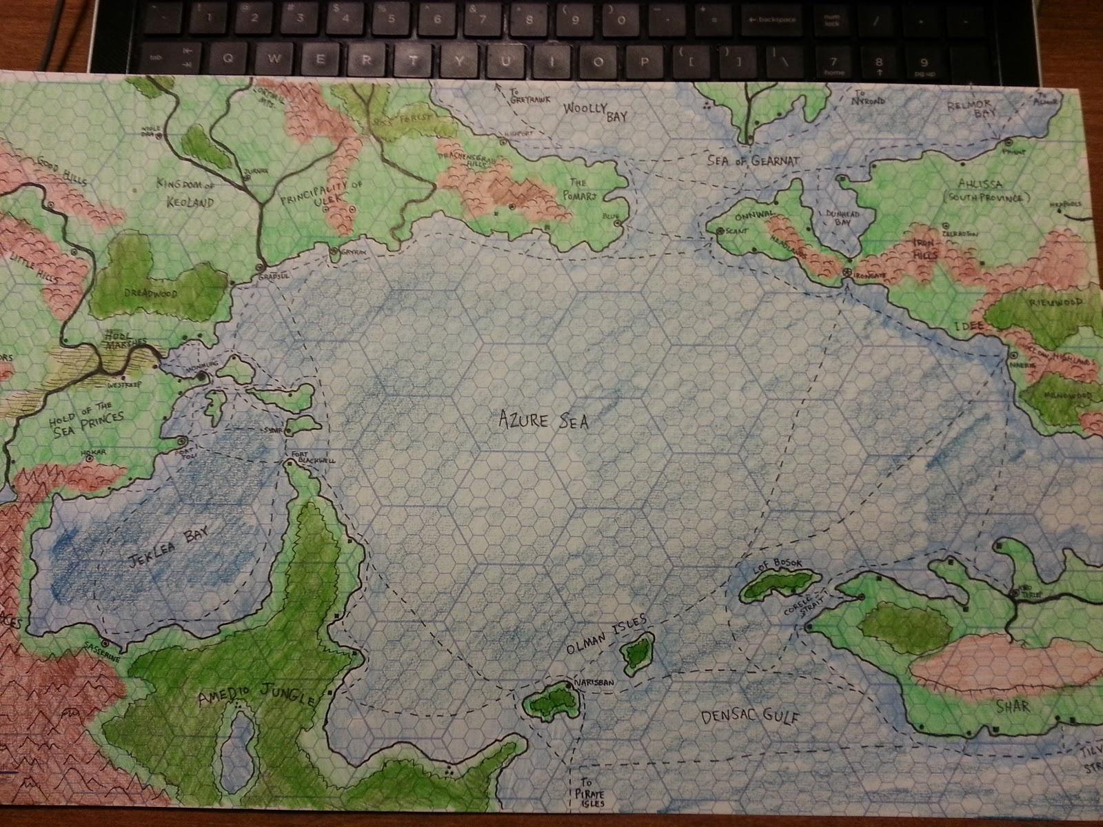 greyhawk map azure sea