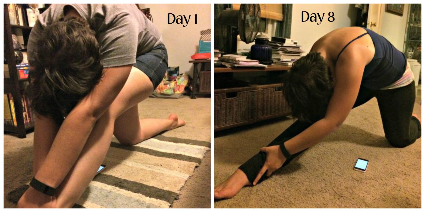 Comparison Foundation Stretch 3 - Week 2 [#JourneytoSplits at High-Heeled Love]