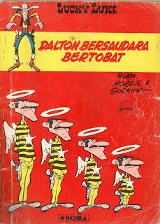 eBook Komik Lucky Luke - Dalton Bersaudara Bertobat
