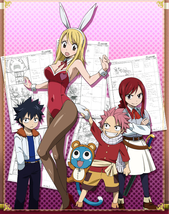 Fairy tail ova 01 dvd fanservice review