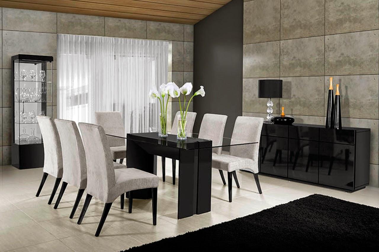 Mesas De Granito Para Sala De Jantar Um Modelo Bem Simples De  -> Sala De Jantar Pequena Com Mesa De Marmore