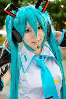 Vocaloid Hatsune Miku cosplay by Aice
