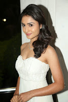 Tridha Chowdhury Hot Pic in White Dress