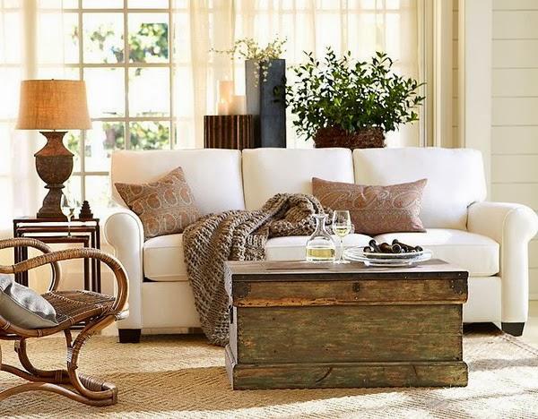 La maison 17 decoraci n interiorismo sal n i tama o y - Como decorar un salon en forma de l ...